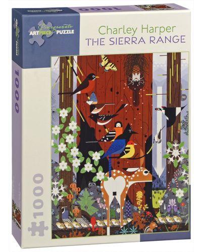 Puzzle Pomegranate de 1000 piese - Sierra Nevada, Charley Harper - 1