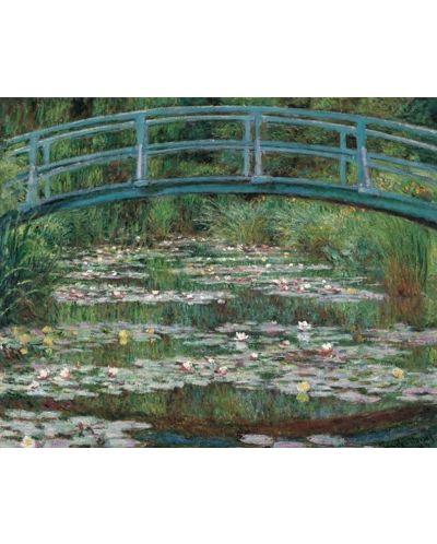 Puzzle Pomegranate de 1000 piese - Podul pietonal japonez, Claude Monet - 2