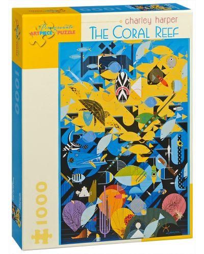 Puzzle Pomegranate de 1000 piese - Recif de corali, Charley Harper - 1