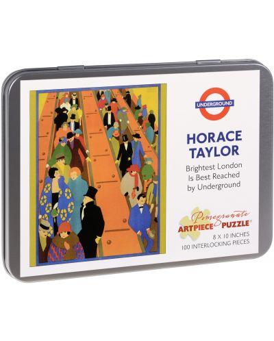 Puzzle Pomegranate de 100 piese - Stralucirea Londrei, Horace Taylor - 1