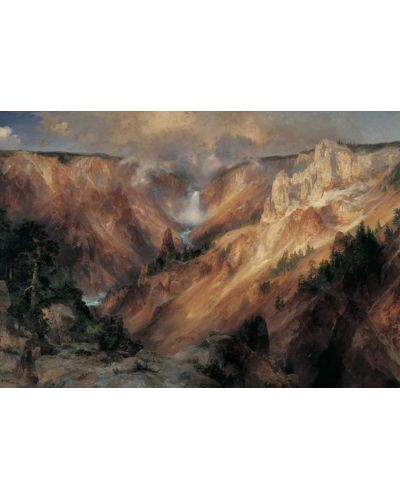 Puzzle Pomegranate de 1000 piese - Yellowstone, Thomas Moran - 2