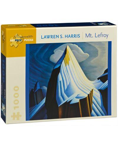 Puzzle Pomegranate de 1000 piese - Muntele Lefroy, Lauren S. Harris - 1