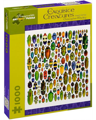 Puzzle Pomegranate de 1000 piese - Creaturi rafinate, Christopher Marley - 1