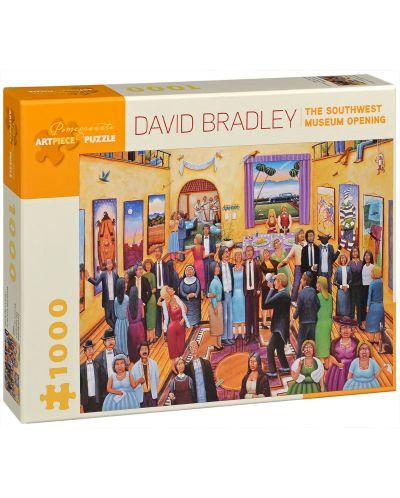 Puzzle Pomegranate de 1000 piese - Deschiderea muzeului de sud-est,, David Bradley - 1