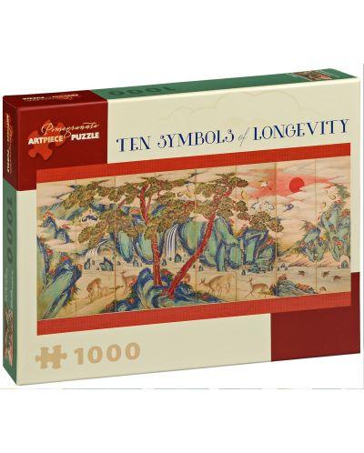 Puzzle Pomegranate de 1000 piese - Zece simboluri ale longevitatii - 1
