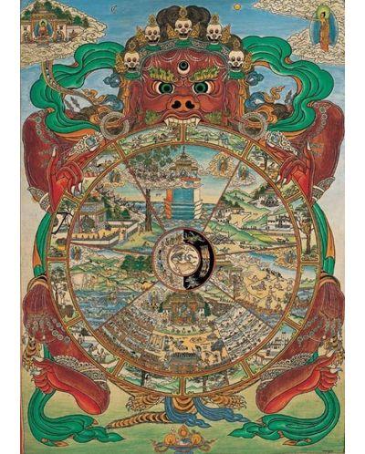Puzzle Pomegranate de 1000 piese - Bhavacakra, Tibet - 2