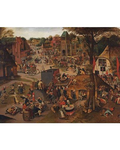 Puzzle Pomegranate de 1000 piese - Festival la tara, Pieter Brueghel - 2