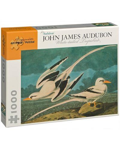 Puzzle Pomegranate de 1000 piese - Phaethon lepturus, John James Audubon - 1