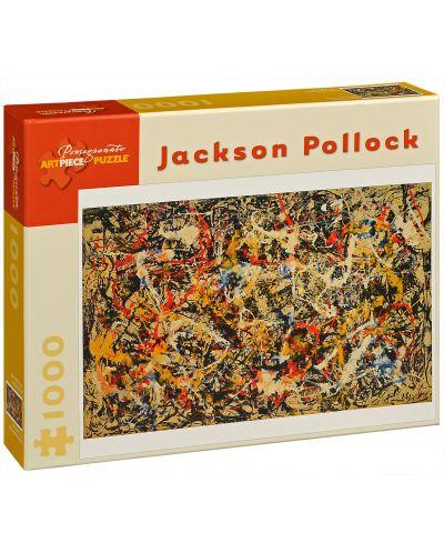 Puzzle Pomegranate de 1000 piese - Convergenta, Jackson Pollock - 1