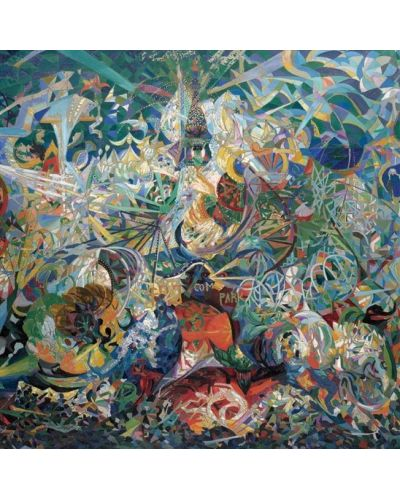 Puzzle Pomegranate de 1000 piese - Lupta luminilor,  Joseph Stella - 2