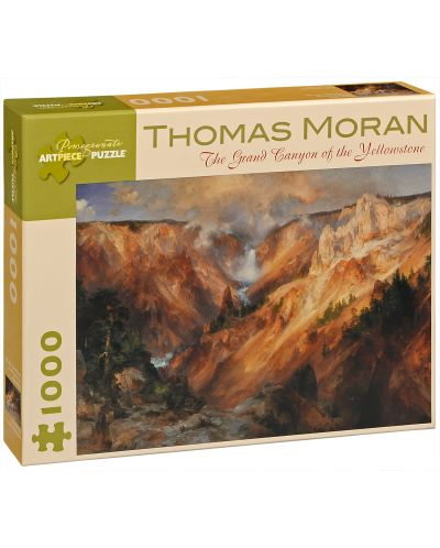 Puzzle Pomegranate de 1000 piese - Yellowstone, Thomas Moran - 1