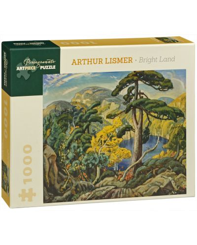 Puzzle Pomegranate de 1000 piese - Pamant nou, Arthur Lismer - 1