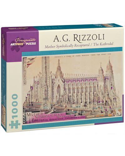 Puzzle Pomegranate de 1000 piese - Mama, recreat, A.G. Rozzoli - 1