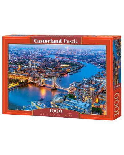 Puzzle Castorland de 1000 piese - Londra vazuta prin ochii paserei - 1