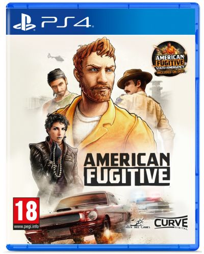 American Fugitive: State Of Emergency (PS4) - 1