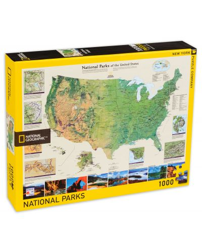 Puzzle New York Puzzle de 1000 piese - Parcul National American - 1