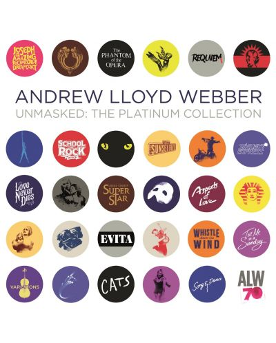 Andrew Lloyd Webber - Unmasked: the Platinum Collection (2CD) - 1
