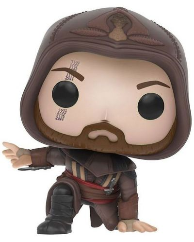 Figurina Funko POP! Games: Assassin's Creed - Aguilar Crouching, #379 - 1
