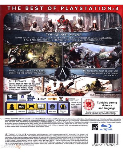 Assassin's Creed: Brotherhood - Essentials (PS3) - 4
