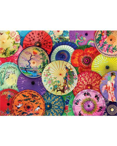 Puzzle Eurographics de 1000 piese - Umbrele asiatice  - 2