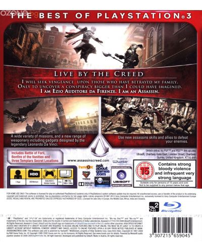 Assassin's Creed II GOTY - Essentials (PS3)	 - 17