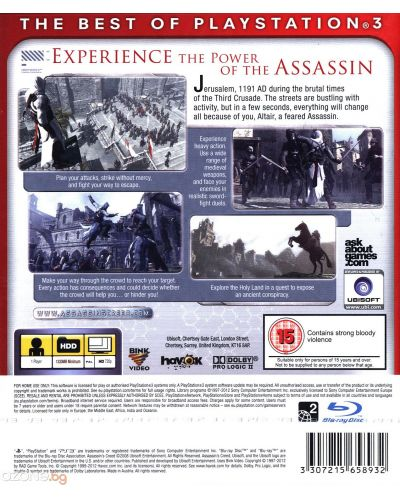 Assassin's Creed - Essentials (PS3) - 3