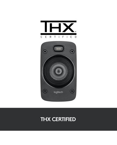 Sistem audio Logitech - Z906, 5.1, negru - 5