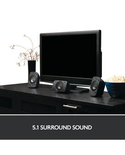 Sistem audio Logitech - Z906, 5.1, negru - 3