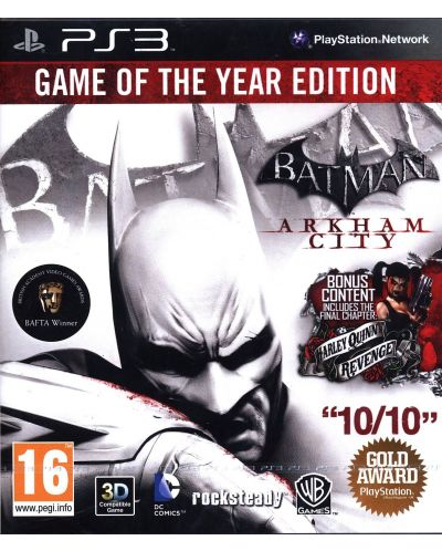 Batman: Arkham City - GOTY (PS3) - 1
