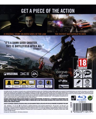Battlefield: Hardline (PS3) - 5