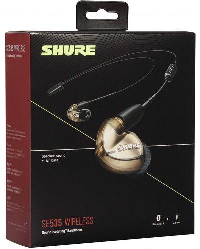 Casti wireless cu microfon Shure - SE535, bronz - 4
