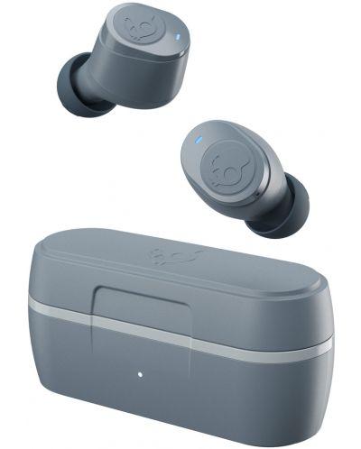 Casti wireless cu microfon Skullcandy - Jib True, TWS, gri - 5