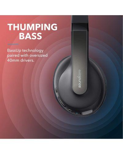 Casti wireless Anker - Soundcore Life Q10, negre/rosii - 4