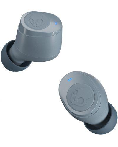 Casti wireless cu microfon Skullcandy - Jib True, TWS, gri - 3