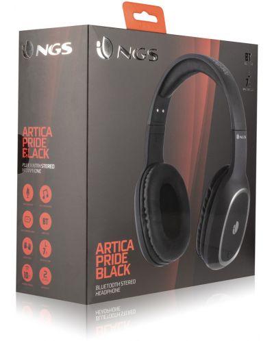 Casti wireless cu microfon NGS - Artica Pride, negre - 4