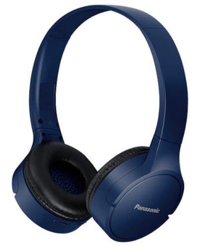 Casti wireless cu microfon Panasonic - HF420B, albastru-inchis - 1