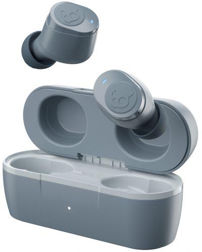 Casti wireless cu microfon Skullcandy - Jib True, TWS, gri - 1