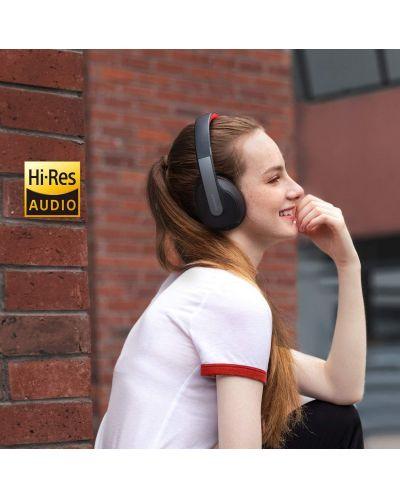 Casti wireless Anker - Soundcore Life Q10, negre/rosii - 3