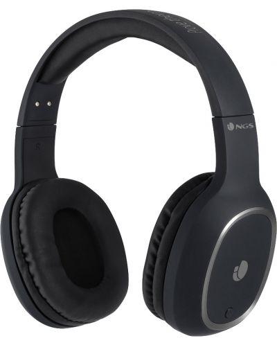 Casti wireless cu microfon NGS - Artica Pride, negre - 1