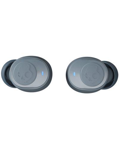 Casti wireless cu microfon Skullcandy - Jib True, TWS, gri - 4