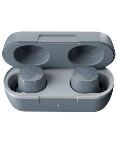 Casti wireless cu microfon Skullcandy - Jib True, TWS, gri - 6