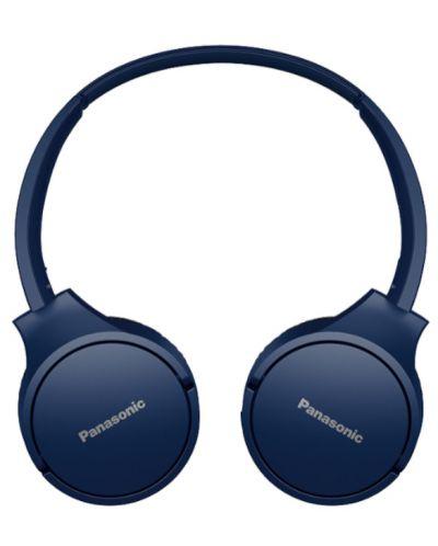 Casti wireless cu microfon Panasonic - HF420B, albastru-inchis - 2