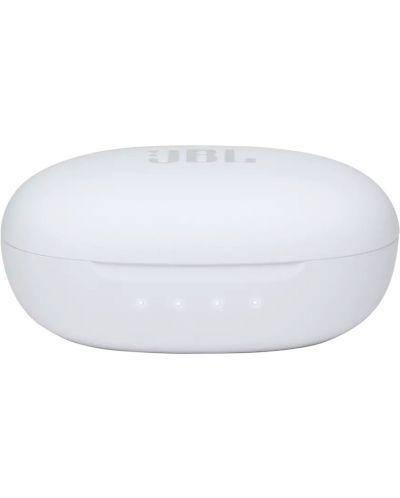 Casti wireless cu microfon JBL - FREE II, TWS, albe - 6