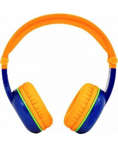 Casti wireless BuddyPhones - SCOUT PLAY, albastre/portocalii - 2