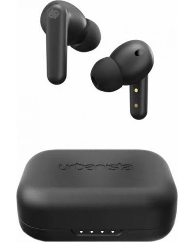 Casti wireless cu microfon Urbanista - London, TWS, negre - 1