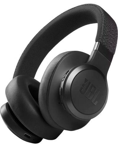 Casti wireless cu microfon JBL- LIVE 660NC, negre - 1