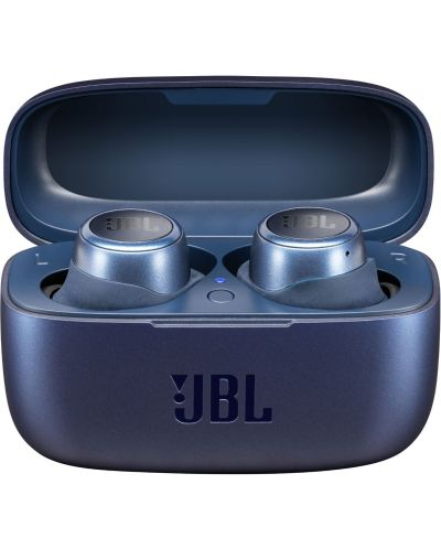 Casti wireless JBL - LIVE E300, TWS, albastre - 1