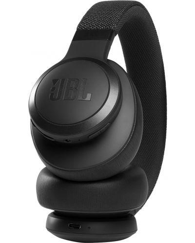 Casti wireless cu microfon JBL- LIVE 660NC, negre - 7