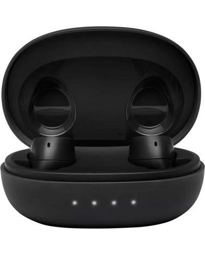 Casti wireless cu microfon JBL - FREE II, TWS, negre - 4