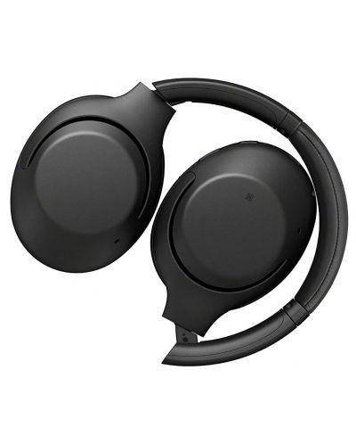 Casti wireless cu microfon Sony - WH-XB900N, negre - 2
